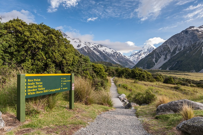 Moutn Cook, New Zealand