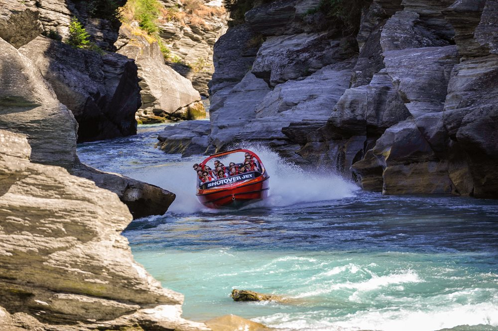 Shotover Jet at Queenstown