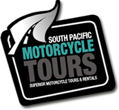 South Pacific Motorcycle Tours logo