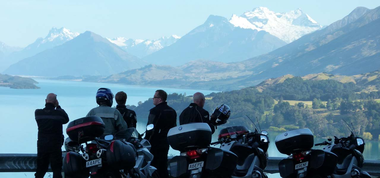 Motorbiking in New Zealand