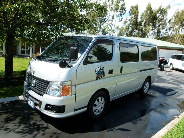 Nissan 9 Seater Mini Bus